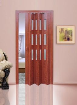 """Дверь со стеклом """"Гармошка"""""""